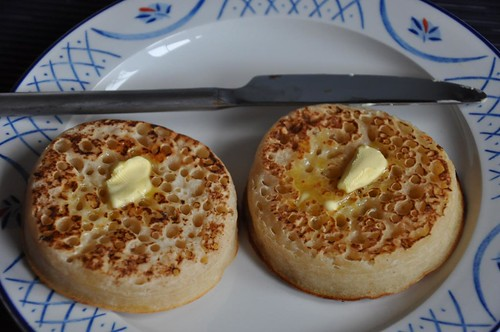 Hot English crumpets | by JohntheFinn