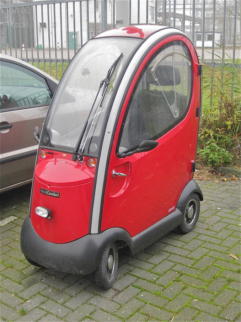 A Small Car >> PractiComfort Minibil, minicar | How small can a car be? It … | Flickr