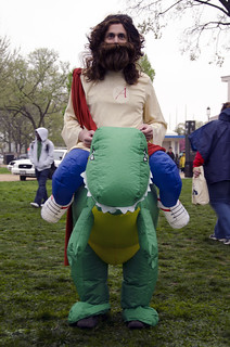 Dinosaur Jesus at Reason Rally | by Chris Wieland