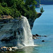 """Spray Falls""  Michigan's Pictured Rocks National Lakeshore"