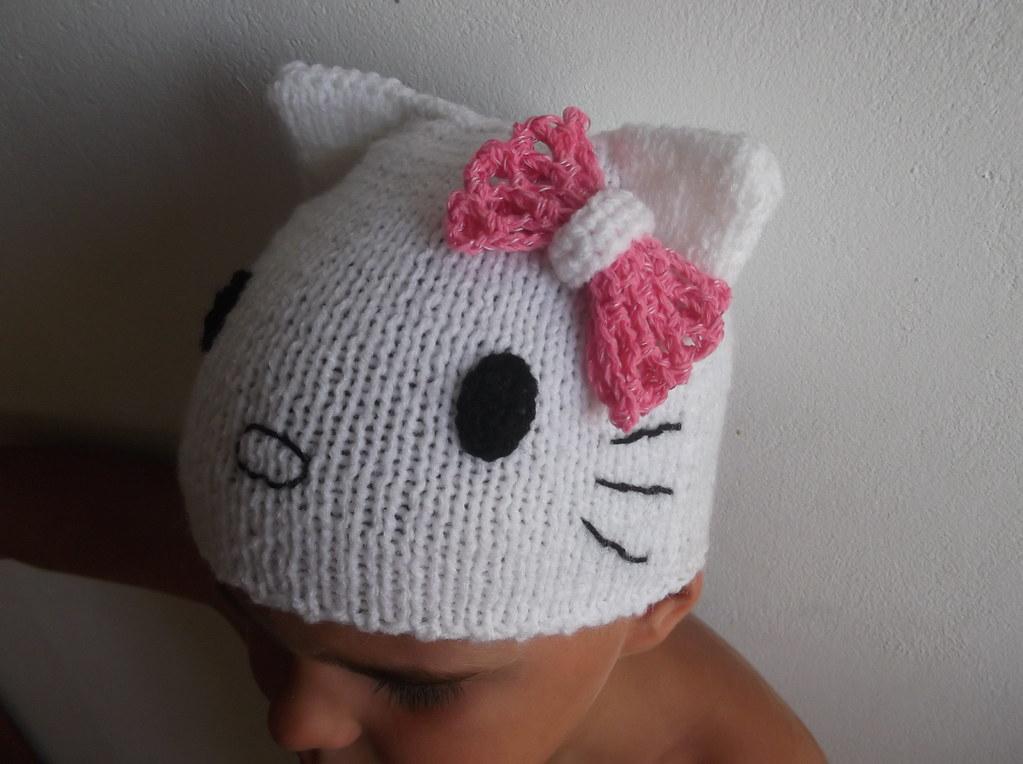 Knited Baby Hat Hello Kitty Crochet Pattern Craft Patterns Flickr
