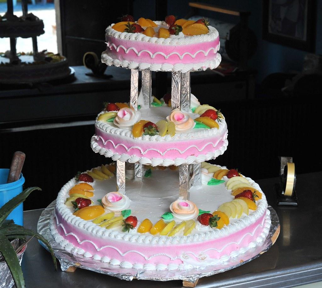 Fancy Pink Cake Mexico Happy Birthday Karen Thomas Aleto Flickr