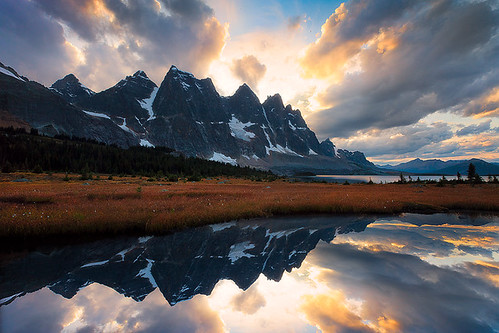The Ramparts Tonquin Valley, Jasper, Canada | by kevin mcneal