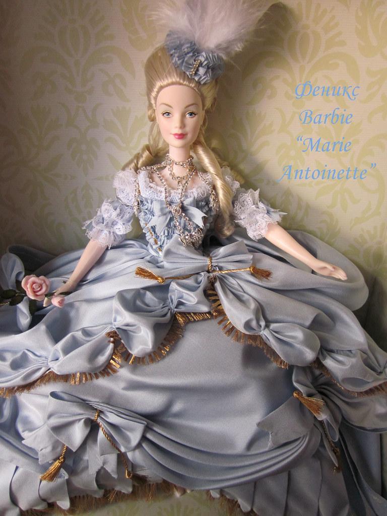 barbie marie antoinette by phoenix - Barbie Marie