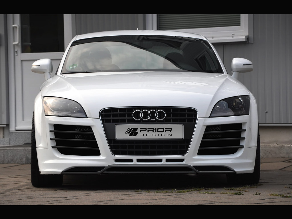 Audi Tt Mk2 8j R8 Style Full Body Kit Front Bumper Rear