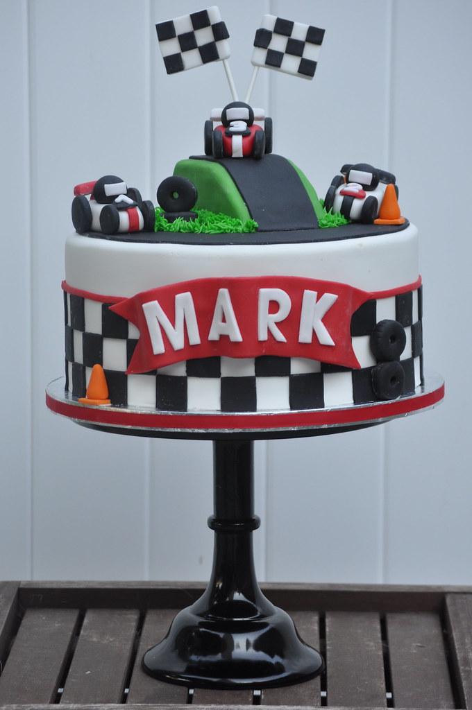 D Race Car Cake Pan