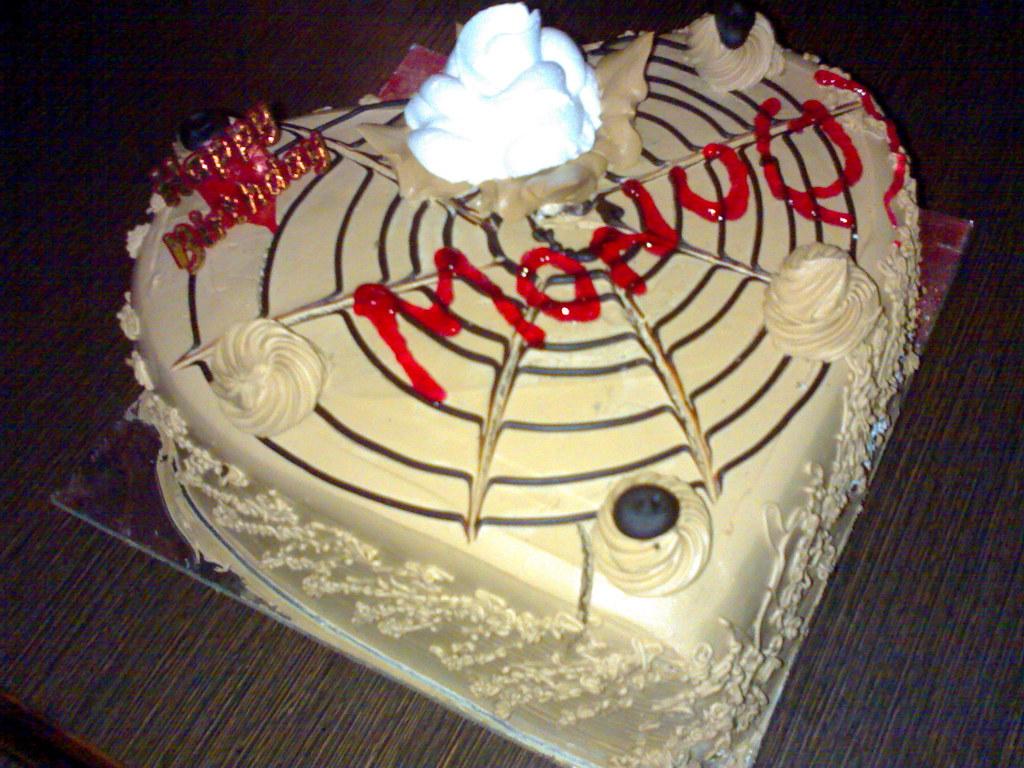 Monuj My Frend Monus Birthday Cake Prince Malviya Flickr