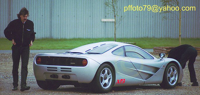 Gordon Murray Mclaren Designer And Xp3 Prototype Mclar