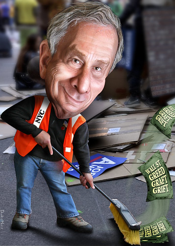 Michael Bloomberg - Cartoon | by DonkeyHotey