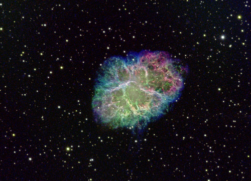 M1 - NGC 1952 - The Crab Nebula SHO | by floppypaws