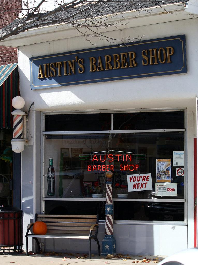 Barber Austin : Austins Barber Shop Marks Postcards from Beloit Flickr