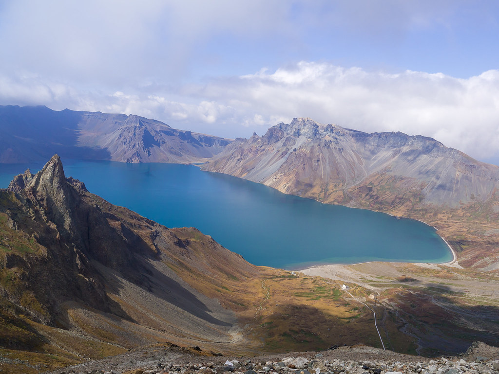 the mount paektu region north korea the mount paektu
