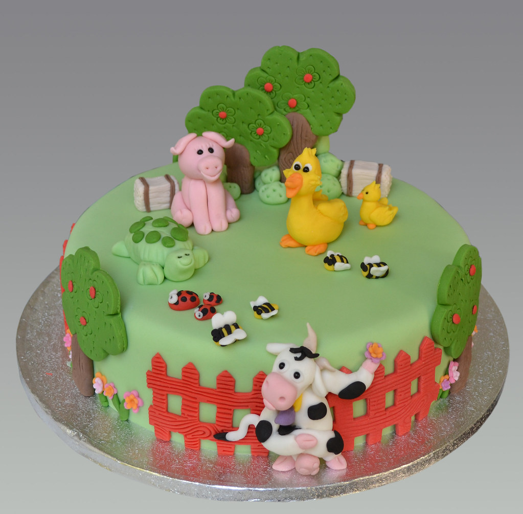 Animal Farm Cake Ideas