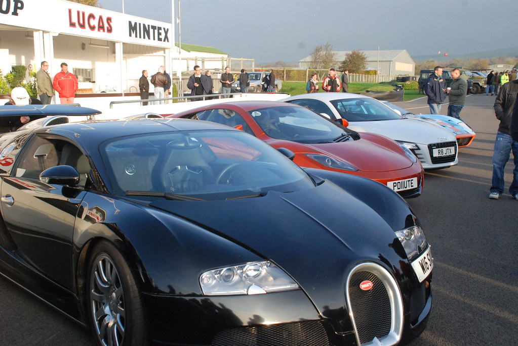 Bugatti Veyron, McLaren F1, Audi R8 and Ford GT 240 Gulf | Flickr on mclaren p1 and bugatti, pagani zonda and bugatti, pagani huayra and bugatti, lamborghini and bugatti, hennessey venom gt and bugatti, dodge viper and bugatti, range rover and bugatti,