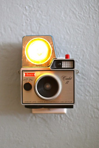 Vintage Camera Nightlight - Ansco Cadet II w/flash | by jayfish