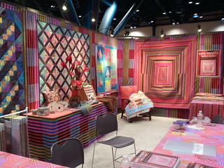 Kaffe Fassett's booth | by treasureup