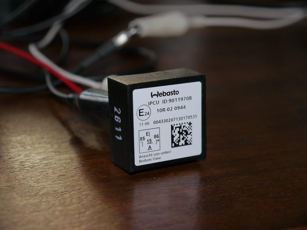 Webasto Thermo Test Programmierung Ipcu Modul Land Rover D