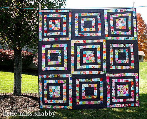 Scrapbuster Quilt | by Little Miss Shabby