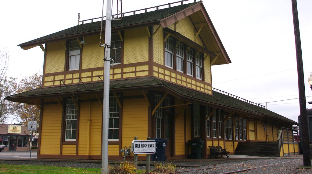 Nevada >> Springfield, OR train station | Southern Pacific built 100's… | Flickr