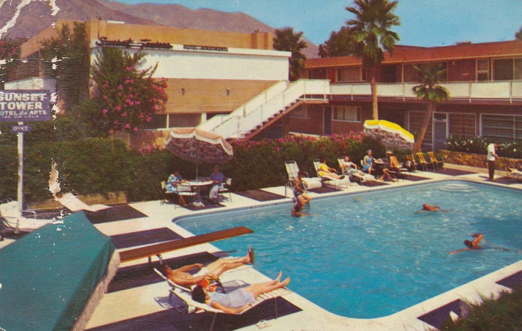 Sunset Towers - Palm Springs, California