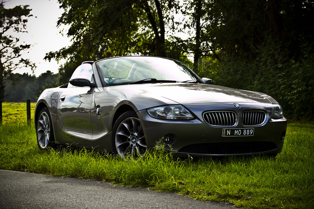 Bmw Z4 E85 Sterling Grey Mitchell Oke Flickr