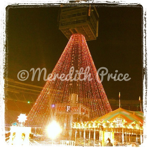 Bristol Motor Speedway Christmas Tree The Tree Of Lights