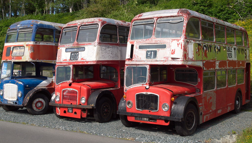 Old British Buses_P6254101 | These old double decker buses ...