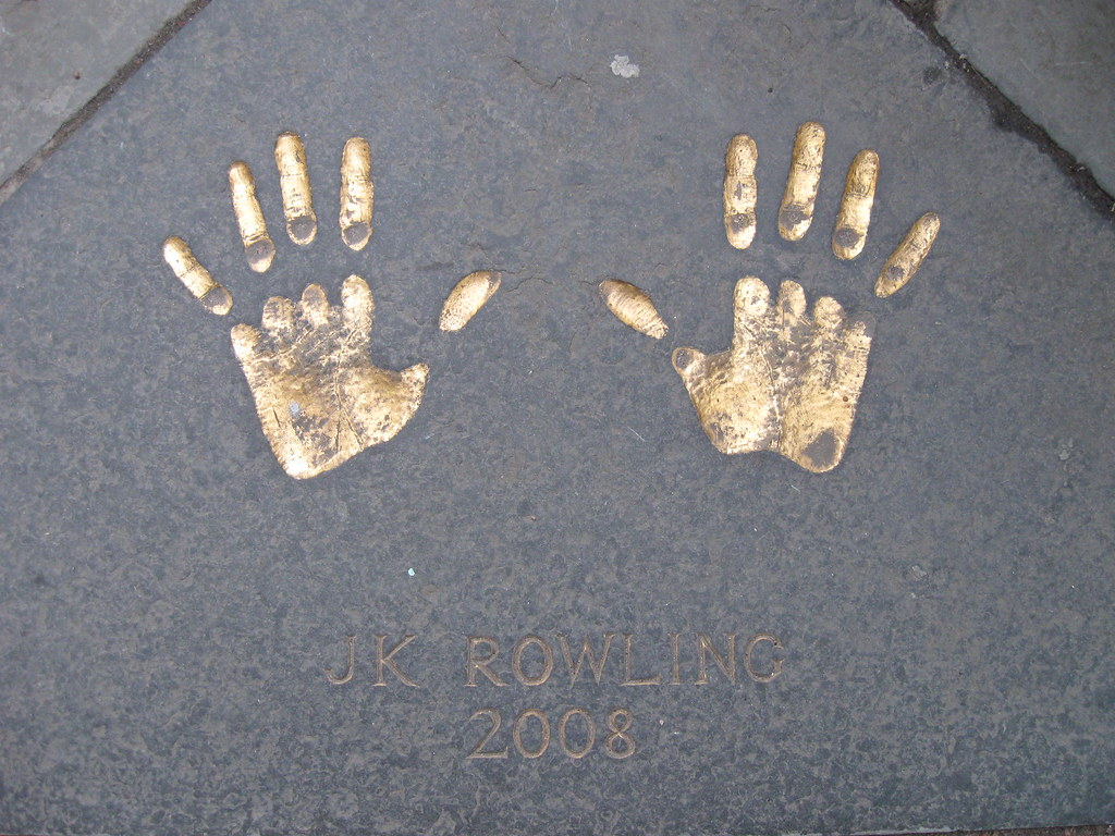JK Rowling was here