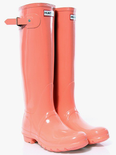 Hunter Coral Boots | Beverly J. Wilson | Flickr