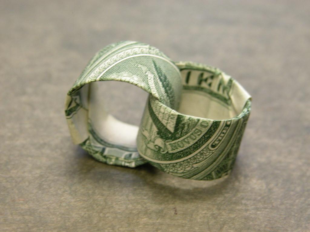 Dollar Wedding Rings