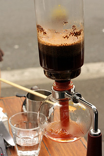 siphon coffee at single origin in Sydney | by David Lebovitz