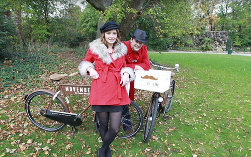 Movember photocall bear bicycles | by bear bicycles