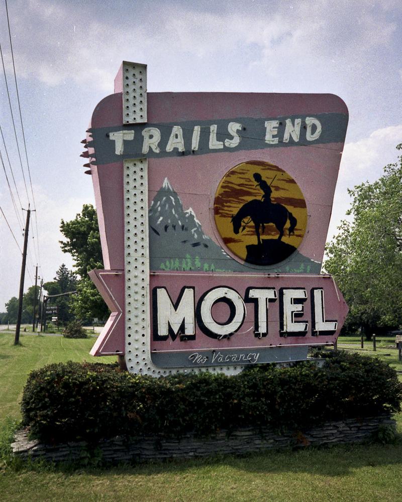 Trails End Motel - Monroeville, Ohio U.S.A. - 1996