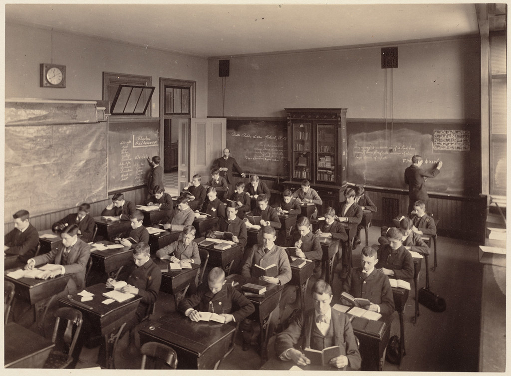 Boston Latin School Interior One Division Of The Third