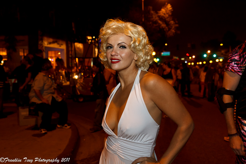 West Hollywood Halloween Carnaval Parade 2011- Marilyn Mon… | Flickr