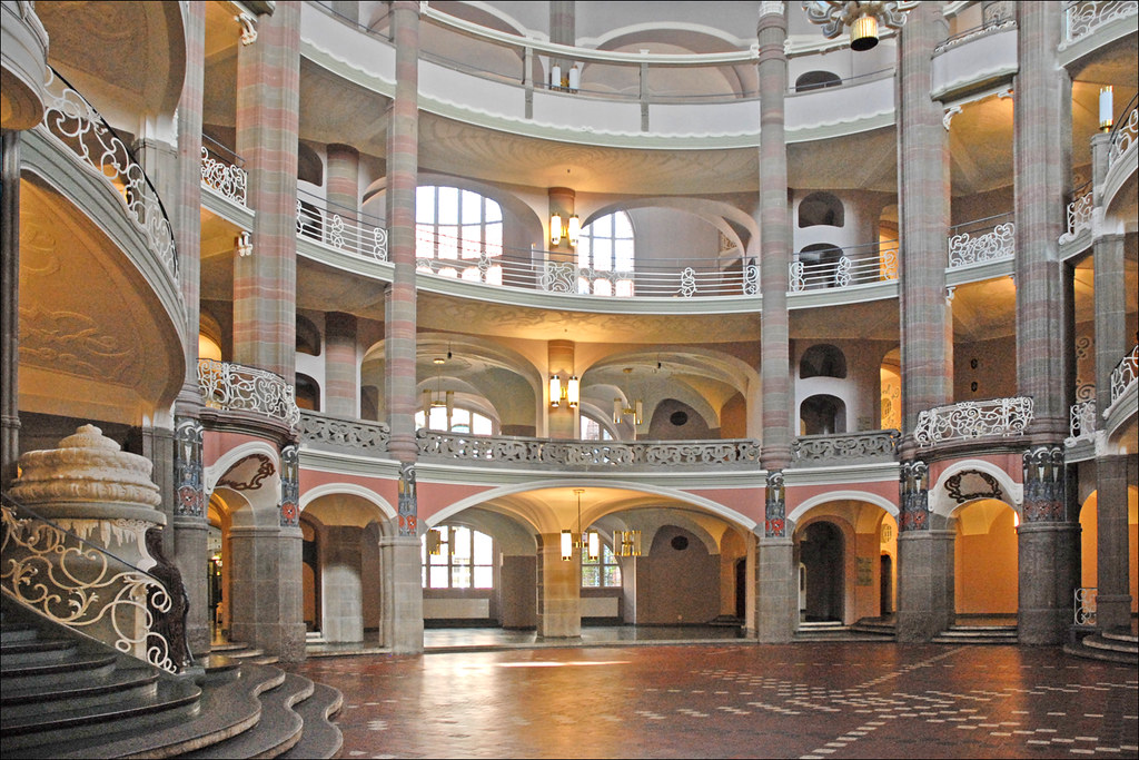 le palais de justice de littenstrasse berlin le hall jug flickr. Black Bedroom Furniture Sets. Home Design Ideas