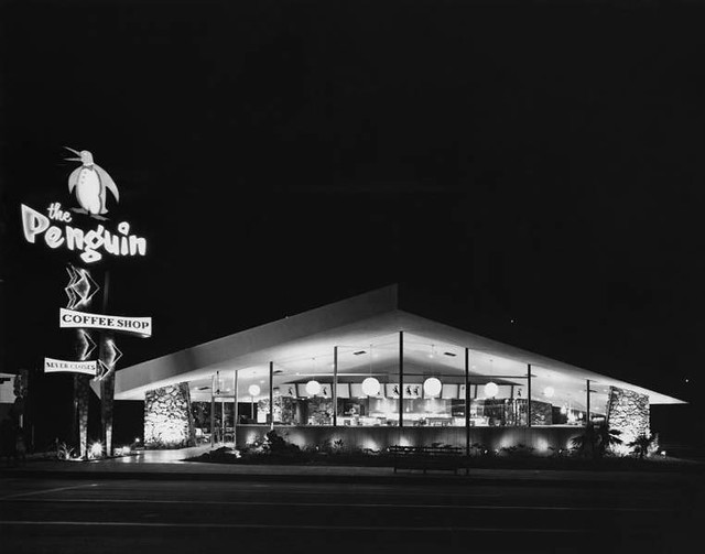 The Penguin Coffee Shop Santa Monica 1959 Flickr