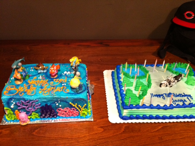Images Of Cake For Son : Father and son birthday cakes #tiatriciaisold Tricia ...
