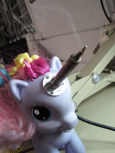 HAPPY Happy happy hpy BIRTHDAY, Sparkles, our ever loving soldering unicorn! | by CRASHSpace