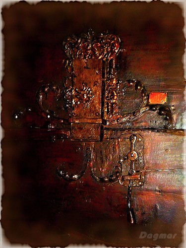 Metal lock on the door of the church | by Dagmar :-)