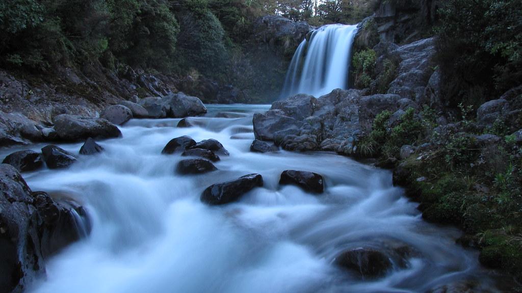 Tawhai falls long shutter z flickr for Landscape jobs nz