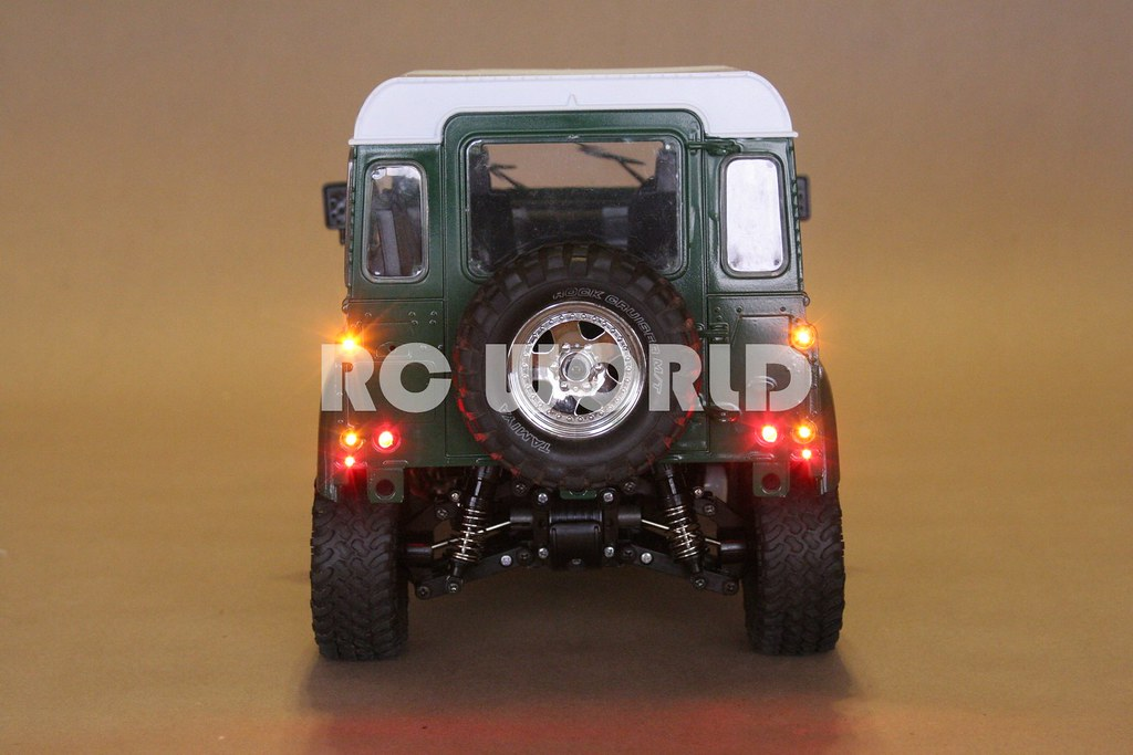 tamiya rc land rover defender 90 rc world flickr. Black Bedroom Furniture Sets. Home Design Ideas