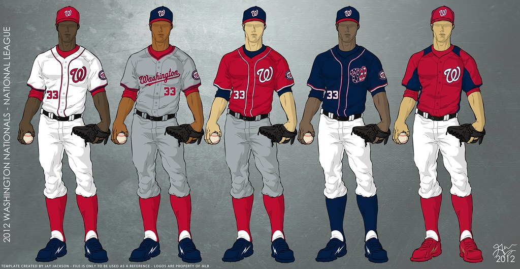 Washington Nationals 2012 Uniforms | Uniforms to be worn ...