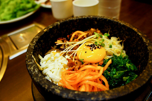 Korean's Bibimbab (mixed rice) | by simplificity