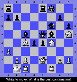Chess Middlegame Puzzle - 20 | by ChessNetwork