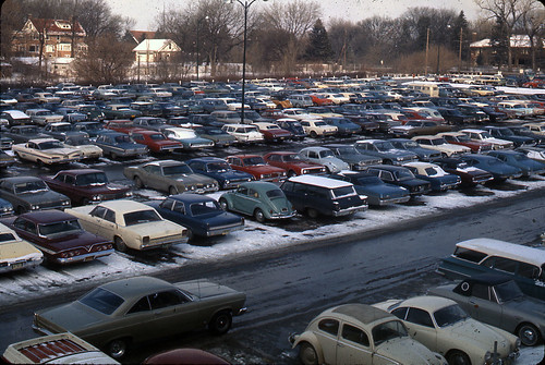 W Parking_early 70s | by UNO Criss Library