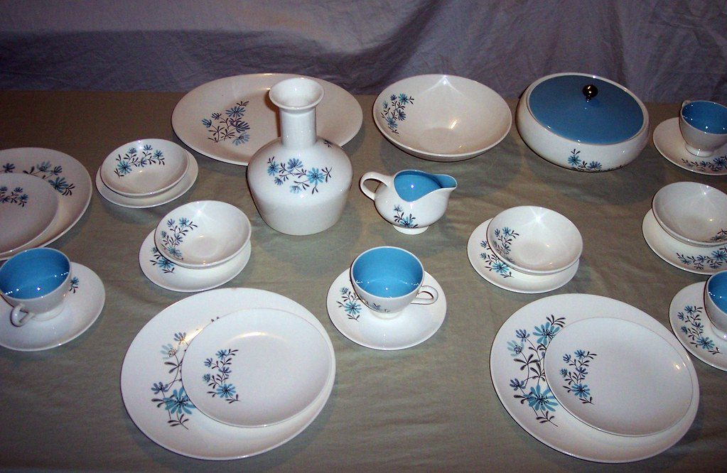 ... EDWIN M KNOWLES  EVENING SONG  DINNERWARE   by clayangel_sc & EDWIN M KNOWLES