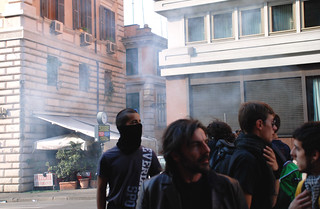 32 - Oct 15 2011 - Rome Protest | by Barb Mayer