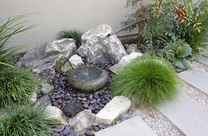 Tranquil japanese garden by freidin design and constructio for Free rock garden designs