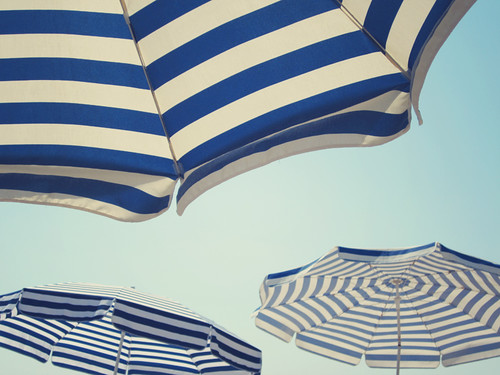 Parasols at the beach | by ♥ Moa Maria